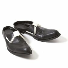 LIMI feu Ribbon design leather slip-on shoes Size US About  7(K-44574)