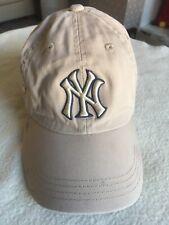 Adidas NY Childs Beije Cotton Baseball Cap. Adjustable.
