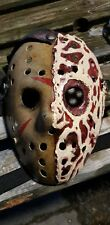 friday 13th  jason vs freddy custom  made mask.
