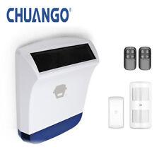 Chuango 'Starter On-Site Solar 260' Wireless Home Security Alarm