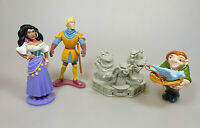 Der Glöckner von Notre Dame 4 Figuren Disney