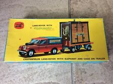 CORGI TOYS GIFT SET No19 CHIPPERFIELDS LANDROVER ELEPHANT CAGE GREAT BRITAIN BOX