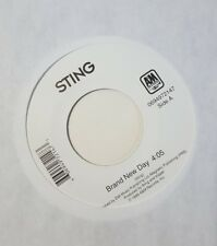 STING  brand new day  / i'm so happy i can't stop crying  45 Record