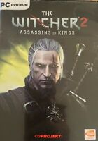 The Witcher 2 Assassins Of Kings Bonus DVD Sound Track PC DVD Game big box