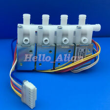 DC 24V 3-Way Micro Electric Solenoid Valve Normally Closed N/C for Gas Air Valve
