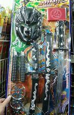Set guerriero spada maschera,  Kit gioco di qualità giocattolo toy a35