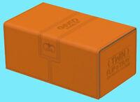 ULTIMATE GUARD TWIN FLIP n TRAY ORANGE 200+ XENOSKIN DECK CASE Gaming Card Box