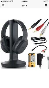 Sony Wireless Stereo Headphone WH-RF400 TV Home, Gaming PC, Music ( no box)