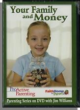 Your Family and Money - Christian Parenting Series with Jim Williams - New DVD!