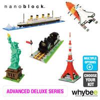 Nanoblock Advanced Deluxe Hobby Series - Challenging Micro Building Blocks 12yr