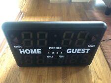 Gamecraft SK2229R Multisport Timer Scorer Scoreboard Used Once - Great Condition