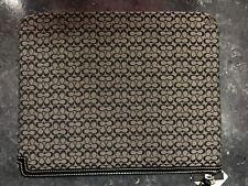 Coach 61992E Tablet Black/ White iPad Sleeve/Pouch