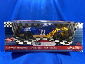 Ertl White Rose Brett Bodine #11 Lowe's 1995 Ford Thunderbird 1:18 Bank- NOS