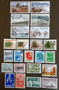 CANADA23 diff used* high-value definitives up to $2 denominations. Combined S&H