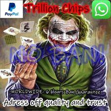 Zynga Poker Chips 1.000.000.000.000 T NO BAN!