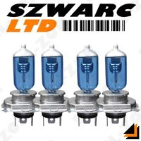 4 X H4 100w 24v Xenon Super White Headlight Lamp Bulbs Scania Daf Iveco Volvo