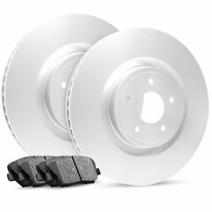 For 2015-2017 Audi, Volkswagen A3, e-Golf Front OE Blank Brake Rotors+ Pads