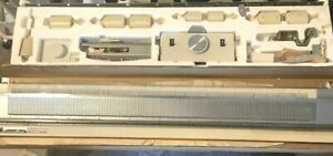 KNITMASTER SRP-50 RIBBER BOXED AND IN GOOD WORKING CONDITION