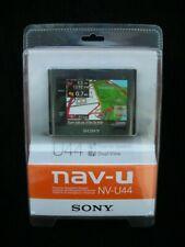 NIB! SONY MODEL NV-U44 GPS NAVIGATION / CAR MOUNT & CAR CHARGER BUNDLE NEW