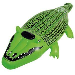 Wehncke 14121 Reittier Krokodil 165 cm Wassertier Wasserspielzeug Badetier Neu