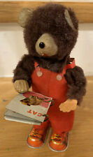 Cubby the mechanical reading Bear by Alps, Made In Japan, Baby Book