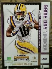 2015 PANINI CONTENDERS GAME DAY TICKETS TERRENCE MAGEE # 94 / LSU