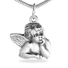 925er Silber Anhänger Raffael Schutzengel Engel Schmuck