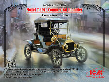 ICM 1/24 Model T 1912 Commercial Roadster American Car # 24016
