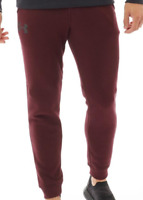 Under Armour Rival Jogging Bottoms Cotton Mens Size UK Medium Maroon *REF137