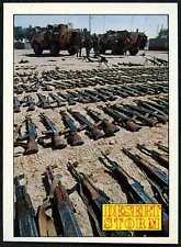 The Spoils Of War #157 Desert Storm 1991 Merlin Sticker (C959)