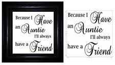 Unbranded Vinyl Family Names Decorative Plaques & Signs
