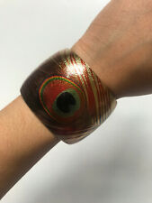 Forever 21 Gold Peacock Cuff Bracelet Bangle Womens Everyday Fashion Jewellery