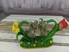 Charming tails bunny buddies tulips mice floyd mouse flowers