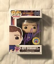 FUNKO POP JEFF DUNHAM WITH PEANUT #03. AUTOGRAPHED. IN HAND. QUICK SHIP