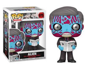Funko Pop! Movies: They Live Alien #975 NIB cZ