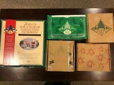Hallmark 1996 - 2000 Keepsake Ornament Collectors Club lot of 16