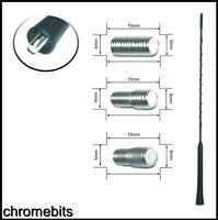 Peugeot 308 Black Genuine Replacement AM//FM Aerial Mast Antenna Roof Screw in Type Includes XtremeAuto Sticker