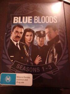 Blue Bloods Season 1 2 and 3 DVD Box Set