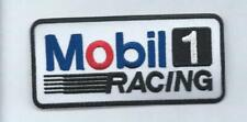 NEW 2 X 4 1/4 INCH MOBIL 1 RACING IRON ON PATCH FREE SHIPPING P1