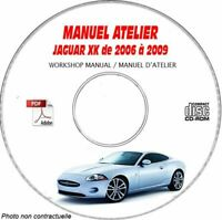 XK 06-09 - Manuel Atelier CDROM JAGUAR Anglais Expédition - --, Support - CD-RO