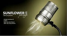BAUUSA Sunflower II-LED Nail Dust Collector Manicure File Acrylic power Uv Gel