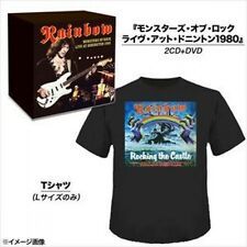 New! Rainbow Monsters of Rock Live At Donington 1980 Limited 2CD+ DVD + T-shirt