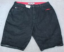 INDIGO RED MENS JEANS FLAT FRONT SHORTS. SIZE W42 X L13. TAG NO. 307W