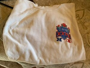 NFL Super bowl XXVII 1993 Cowboys vs. Buffalo Bills Sweatshirt cut sleeves