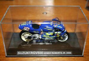 KENNY ROBERTS JR SUZUKI RGV500 2000 1:24 IXO - Rare