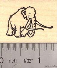 Small Woolly Mammoth Rubber Stamp (Extinct Megafauna) C13602 WM
