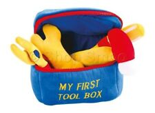 My First Toolbox Tool Box - Plush Baby Boy Learning Play Toy Tools - Pre-School