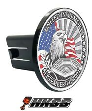 Universal Class 2  3 Tow Hitch Receiver Insert Cover Plug - 911 EAGLE USA I0B