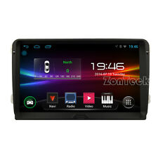 "AUTORADIO GPS ANDROID 9""HD GOLF TIGUAN POLO PASSAT WI-FI 3G 4CORE CANBUS ZK"