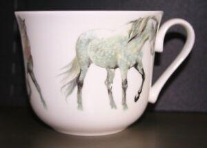 Roy Kirkham Large Breakfast Cup 'My Horse' Fine Bone China NEW